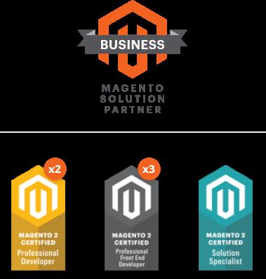 Stenik предлага изработка на онлайн магазини с Magento от екип от сертифицирани програмисти и е официален Magento Solution Business Partner.
