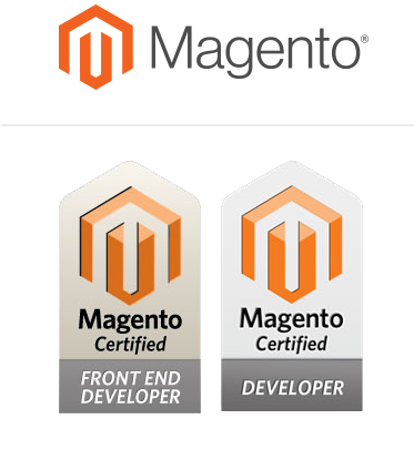 Stenik works with Magento and certified Magento developers