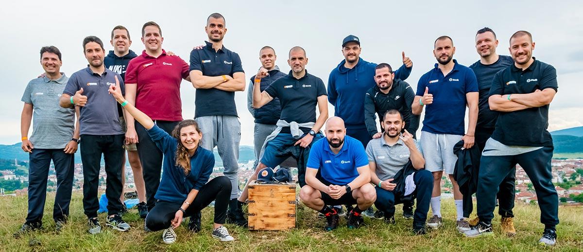 Щастливият екип на Stenik