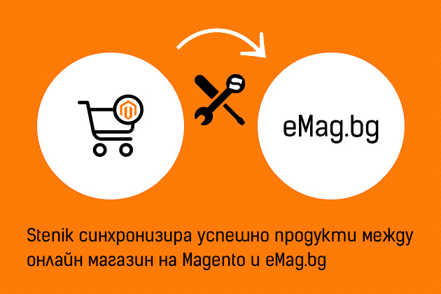 Integration of eMAG and Magento online shop with a module from STENIK - Successful synchronization for your online business