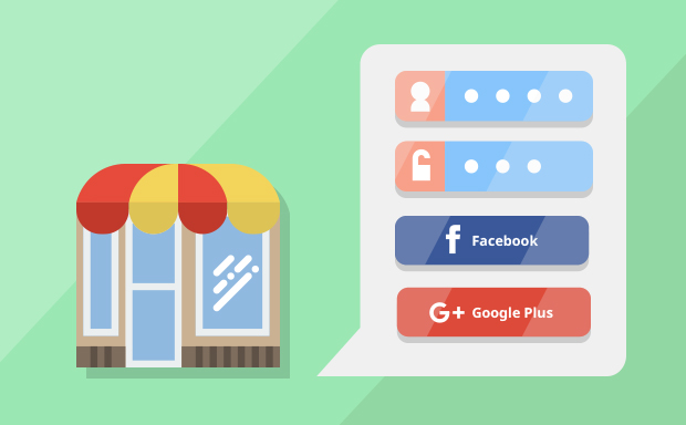 Faster and easier creation of user profiles through integration of Facebook & Gmail login. Increase the percentage of registrations in your online store.