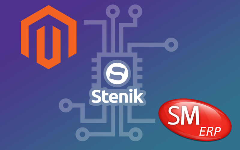 Stenik developed a connector between ERP SelMatic and Magento