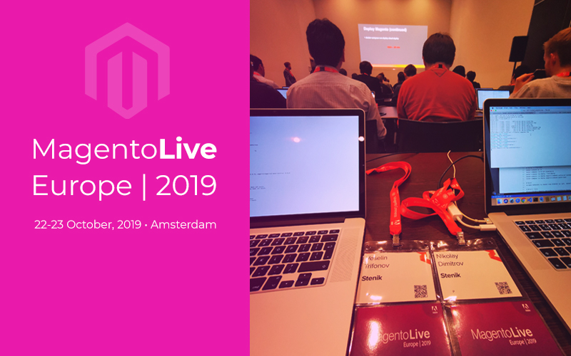 We became part of Magento Live 2019 in Amsterdam