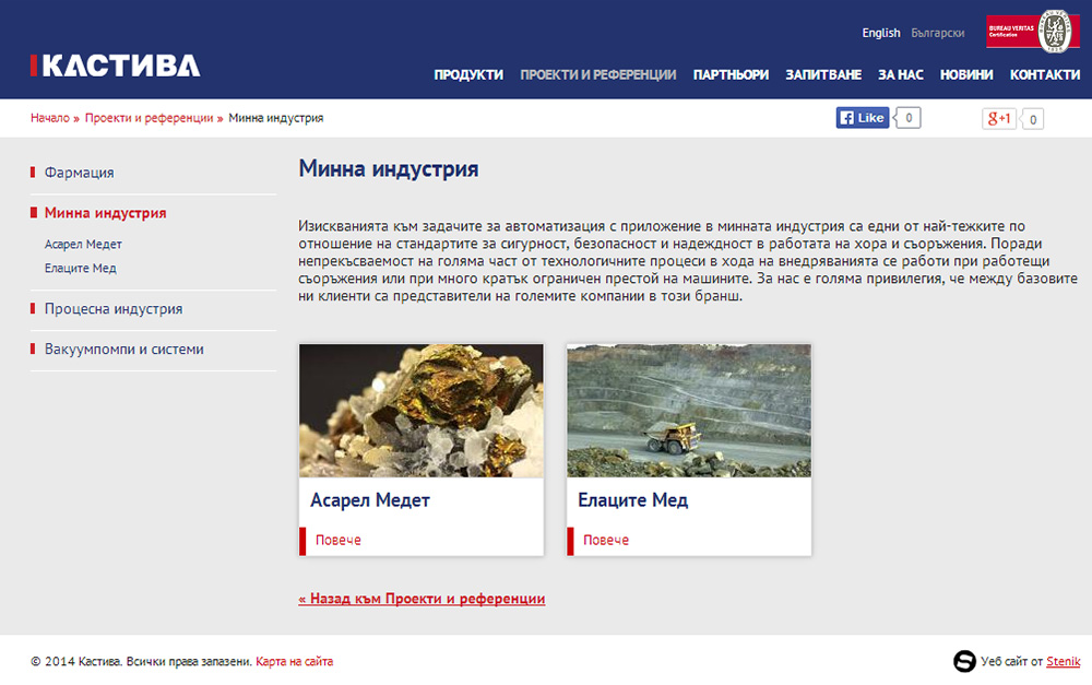 Website for KASTIVA, Kastiva - Web Sites, Stenik, StenikCMS