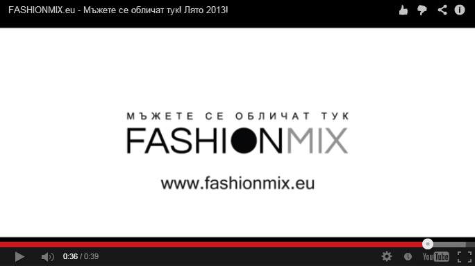 Summer Collection 2013 of online store FashionMix, FashionMix - Video, Stenik