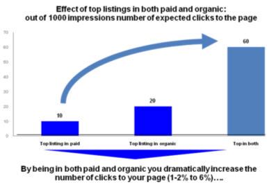 Google Organic and Paid Search