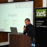 Стефан Чорбанов от Stenik на презентация