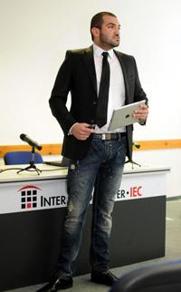 Стефан Чорбанов на Digitex 2011