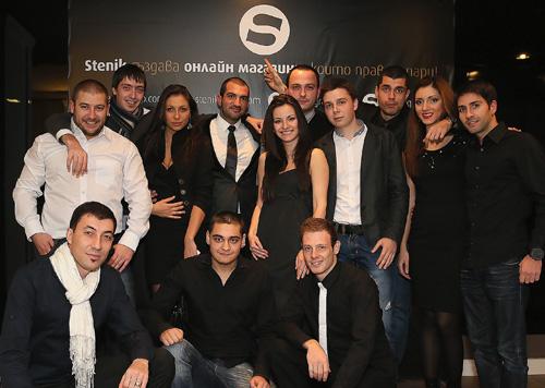 Stenik - Коледно парти 2012 на 13.12.2012