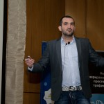 Стефан Чорбанов и Димитър Димитров от Stenik на семинара Продавай повече онлайн